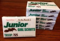 Bridge Score Card Template Awesome Girl Scout Junior Mints Label Idea I Saw This Idea but