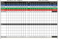 Bridge Score Card Template New Golf Stat Tracker Spreadsheet or Free Excel Score Pga Golagoon