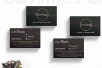 Buisness Card Template Unique Template Business Cards with Images event Planner