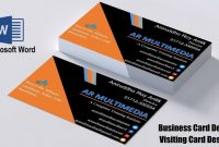 Buisness Card Templates Awesome Business Card Template Word 2020 Addictionary