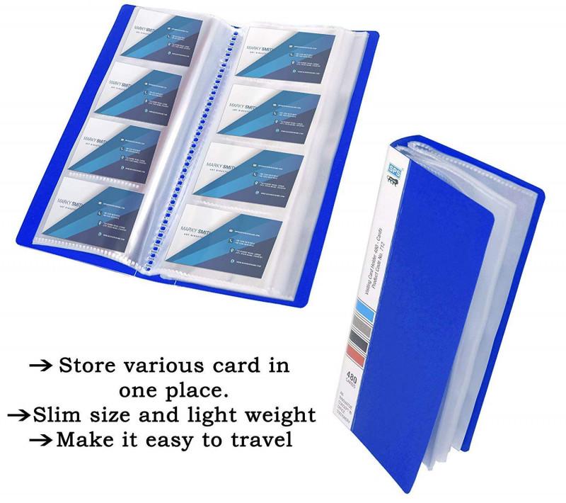 Buisness Card Templates Awesome Sps Visiting Card Holder 480 Folder Blue