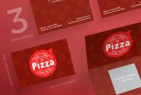 Business Card Size Psd Template Unique Business Cards Pizza
