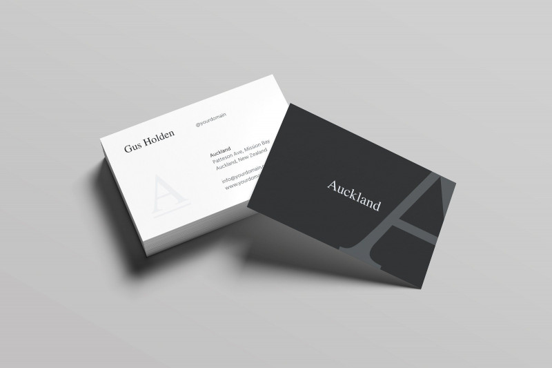 Business Card Size Template Photoshop New Auckland Business Card Business Card Template Photoshop