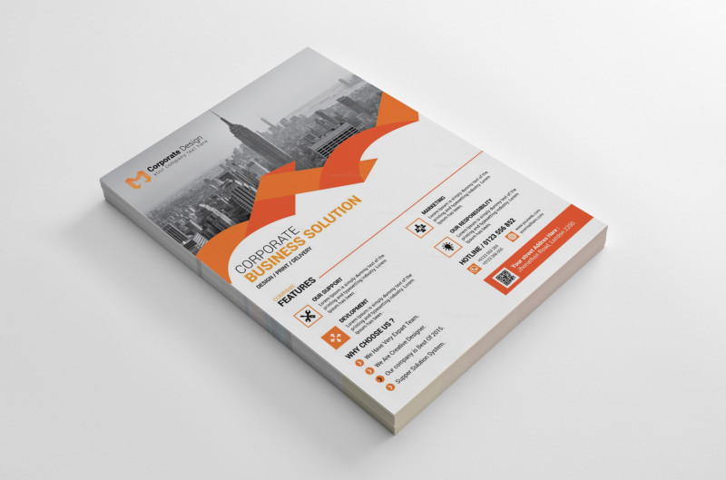 Business Card Size Template Psd Awesome Sarasota Modern Business Flyer Design Template