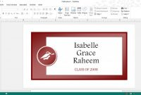 Business Card Template for Word 2007 Awesome Get Microsofts Best Graduation Templates