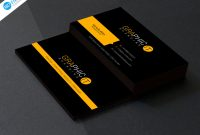 Business Card Template Photoshop Cs6 Unique 150 Free Business Card Psd Templates