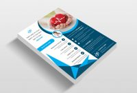 Business Card Template Size Photoshop New Doctor Hospital Flyer Template Creative Daddy