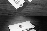 Business Card Template Size Photoshop Unique Free Minimal Business Card Template Creativetacos
