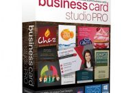 Calling Card Free Template Awesome Business Card Studio Pro Item 5229302