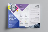Calling Card Free Template Unique Neptune Professional Corporate Tri Fold Brochure Template
