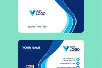 Calling Card Psd Template New Blue Elegant Corporate Card Free Psd Download Free Vectors