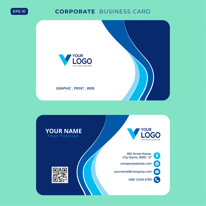 Calling Card Template Psd New Blaue Elegante Unternehmenskarte Free Psd Download