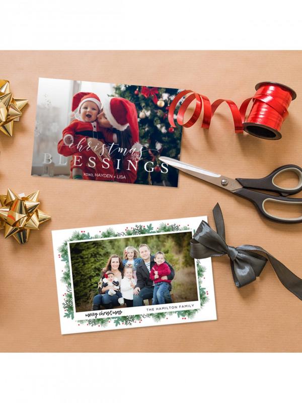 Christmas Photo Cards Templates Free Downloads Unique Custom Cards Announcements Item 6207898