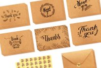 Christmas Thank You Card Templates Free New 36 Blank Thank You Cards with Envelopes Stickers Thank You