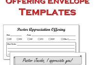 Church Pledge Card Template Unique Template Church Envelope Template Church Envelope Template