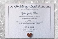 Church Wedding Invitation Card Template Awesome Sample Postcard Invitations