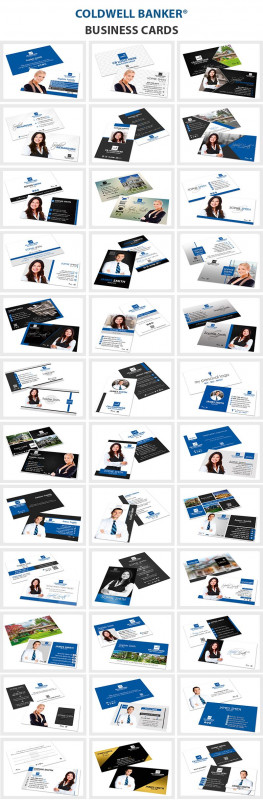 Coldwell Banker Business Card Template Awesome 161 Best Real Estate Printing Images In 2020 Printing