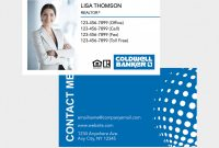 Coldwell Banker Business Card Template New Gray Graphics Printing High Quality Printing Materials