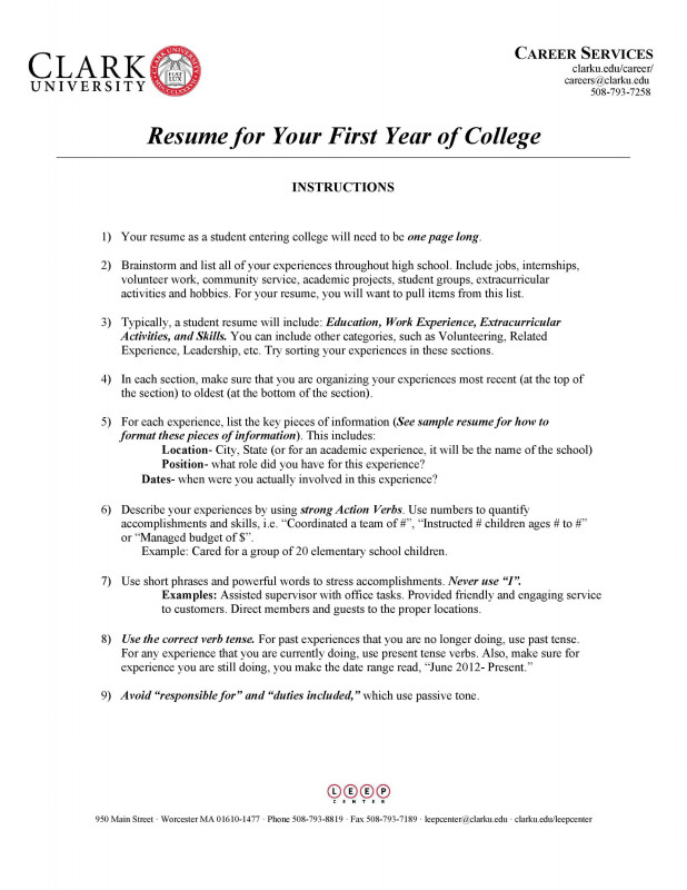 College Report Card Template Awesome 50 College Student Resume Templates Format A… Templatelab
