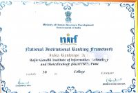 College Report Card Template New Rajiv Gandhi Institute Of Information Technology