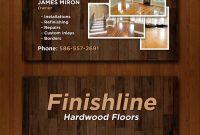 Comp Card Template Download Unique 14 Popular Hardwood Flooring Business Card Template Unique