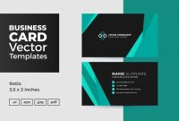 Company Business Cards Templates Awesome Business Card Vector Template