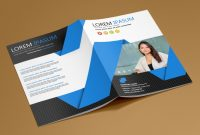 Company Business Cards Templates Awesome Free Bi Fold Brochure Template