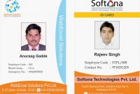 Company Id Card Design Template New Id Cards Identitycards