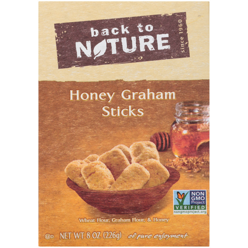 Cookie Exchange Recipe Card Template New Back To Nature Honey Graham Sticks 8 Oz Box