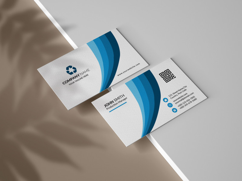 Create Business Card Template Photoshop New Simple and Creative Business Card Template by Mouritheme