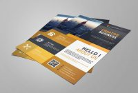 Creative Business Card Templates Psd Awesome Business Flyer Template Free Design