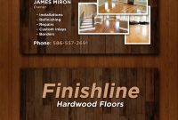 Custom Baseball Cards Template Unique 14 Popular Hardwood Flooring Business Card Template Unique