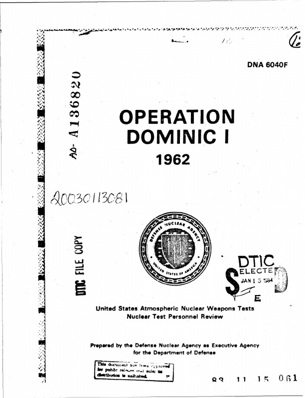 Dd Form 2501 Courier Authorization Card Template Unique Operation Dominic I 1962
