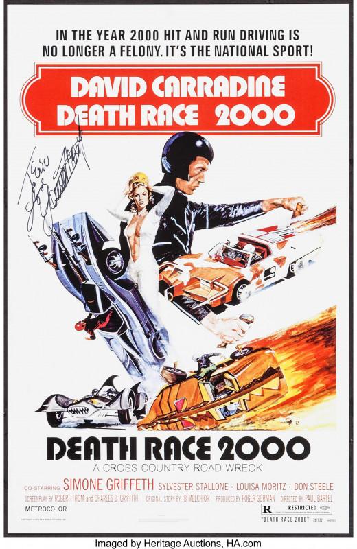 Death Anniversary Cards Templates New Death Race 2000 1975 Imdb
