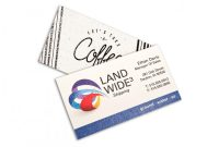 Designer Visiting Cards Templates New Custom Full Color Raised Print Standard White Business Cards Square Corners 1 Side Box Of 250 Item 505870