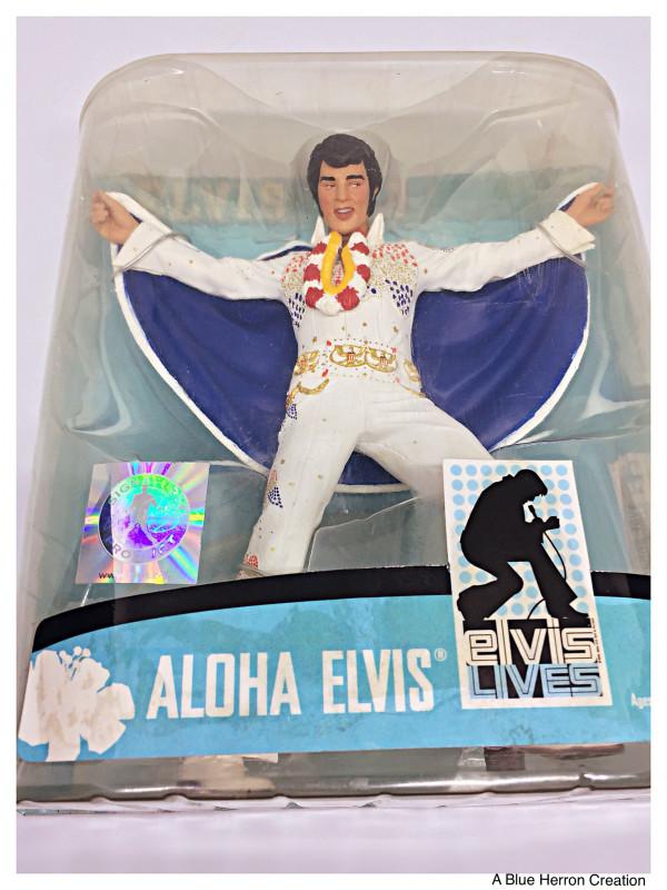 Dominion Card Template Awesome Elvis Presley Hawaii Aloha Action Figure 1973 Mcfarlane Toys