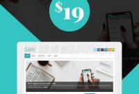 Dominion Card Template New Slim WordPress theme Blog Websites WordPress