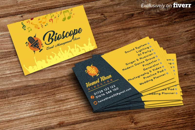 Double Sided Business Card Template Illustrator New Design Professional Business Card with Your Picture and Logo