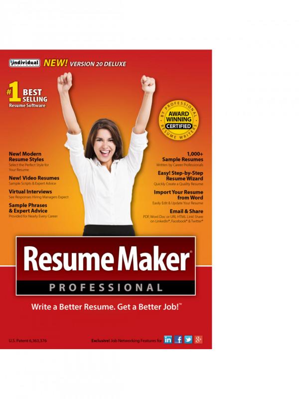 Download Comp Card Template New Resumemaker Professional Deluxe 20 Download Item 888191