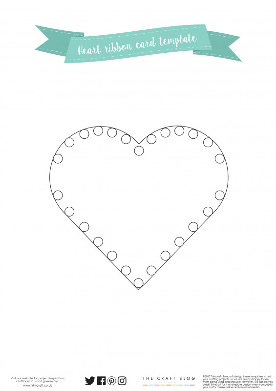 Download Visiting Card Templates Awesome Dovecraft Ribbon Heart Card Tutoria the Craft Blog