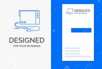 Download Visiting Card Templates Unique Business Logo for Audio Card External Interface sound