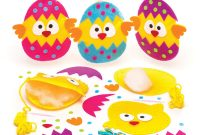 Easter Chick Card Template Unique Baker Ross Easter Chick Sewing Kits Pack Of 3 Easter Crafts for Kids to Make and Display