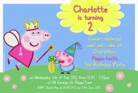 Elmo Birthday Card Template New Peppa Pig Invitation Template