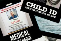 Emergency Contact Card Template Awesome Use these Id or Identification Cards to Make Id Cards for