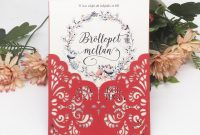 Engagement Invitation Card Template Awesome Chinese Red Sample Elegance Style Invitation Card with Wedding Birthday Party Supplies Decoration with Hollow Laser Cut Flower Invitation Cards Party
