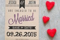Engagement Invitation Card Template Unique 9 Free Save the Date Templates