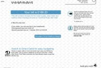 Fake Credit Card Receipt Template New Utility Bill Template Free Download Restaurant Receipt