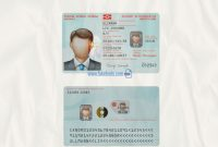 Fake social Security Card Template Download Unique norway Id Card Template