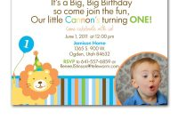 First Birthday Invitation Card Template Unique Quotes for Boys First Birthday Quotesgram