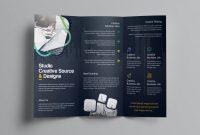 Fold Out Card Template New Logic Professional Corporate Tri Fold Brochure Template